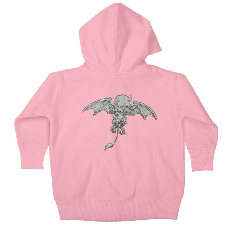 A Familiar Imp Kids Baby Zip-Up Hoody by The Artist Shop of Jason Martian