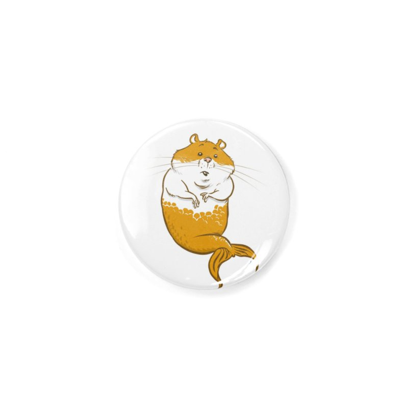 MerHamster Accessories Button by The Artist Shop of Jason Martian