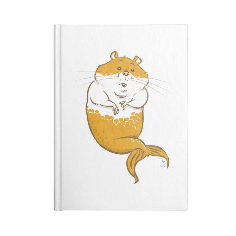 MerHamster Accessories Notebook by The Artist Shop of Jason Martian