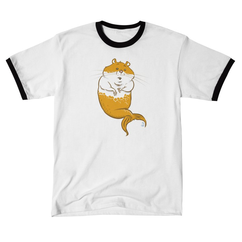 MerHamster Men's T-Shirt by The Artist Shop of Jason Martian