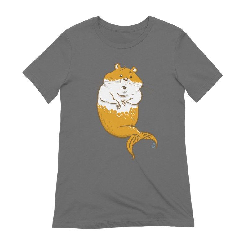 MerHamster Women's T-Shirt by The Artist Shop of Jason Martian