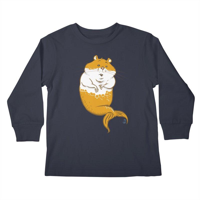 MerHamster Kids Longsleeve T-Shirt by jasonmartian's Artist Shop