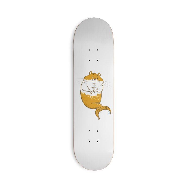 MerHamster Accessories Skateboard by The Artist Shop of Jason Martian