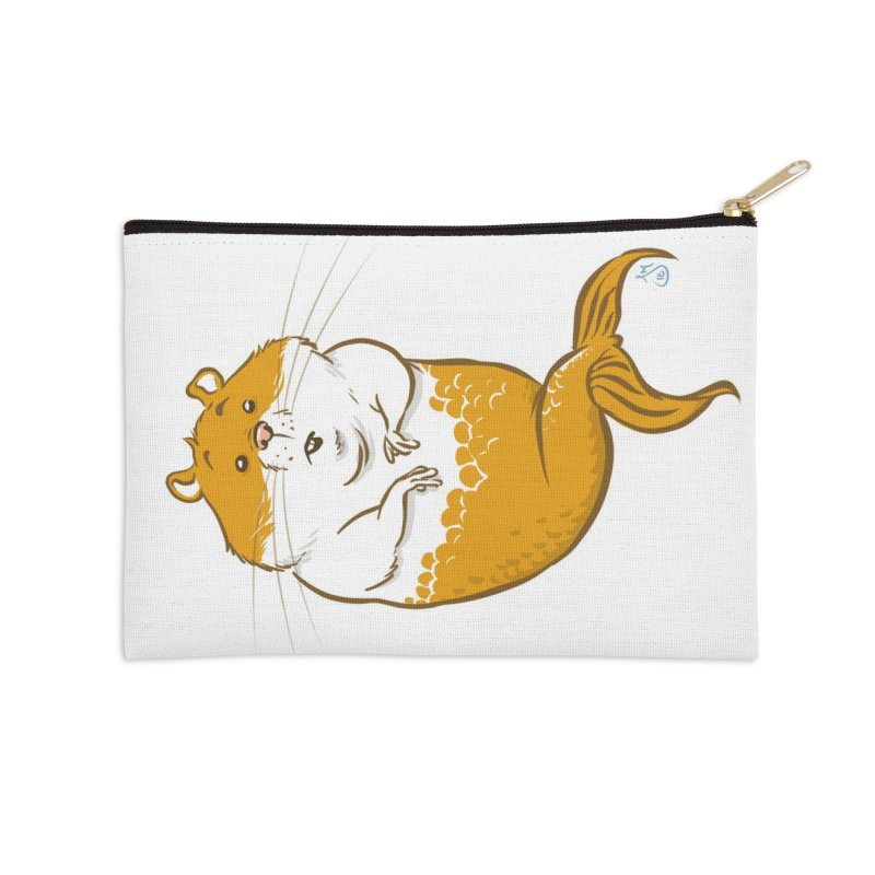 MerHamster Accessories Zip Pouch by The Artist Shop of Jason Martian