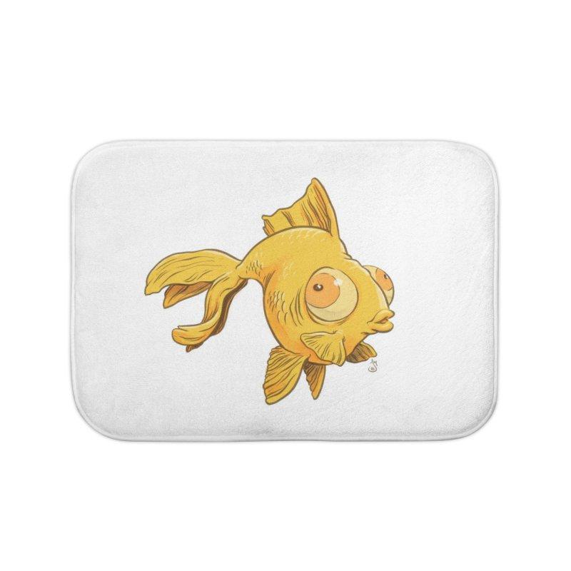 Goldfish Home Bath Mat by The Artist Shop of Jason Martian