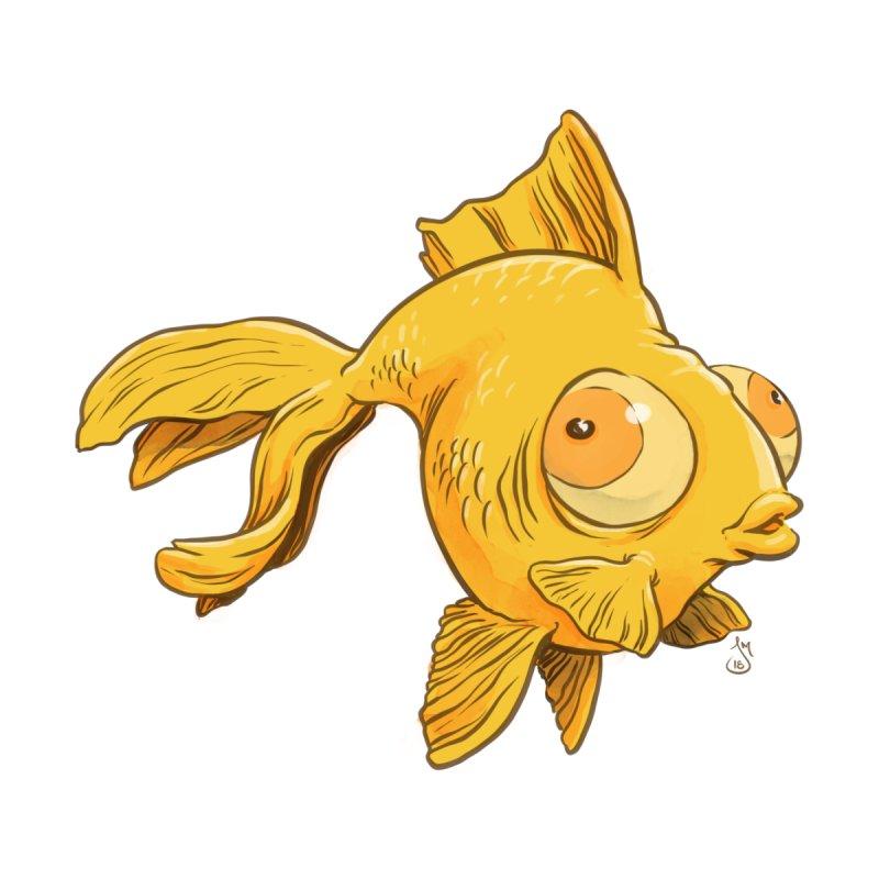 Goldfish Kids Longsleeve T-Shirt by jasonmartian's Artist Shop