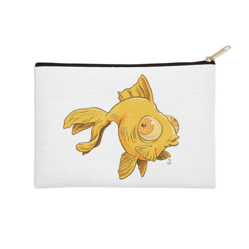 Goldfish Accessories Zip Pouch by The Artist Shop of Jason Martian