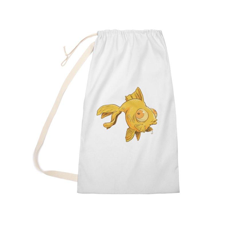 Goldfish Accessories Bag by The Artist Shop of Jason Martian