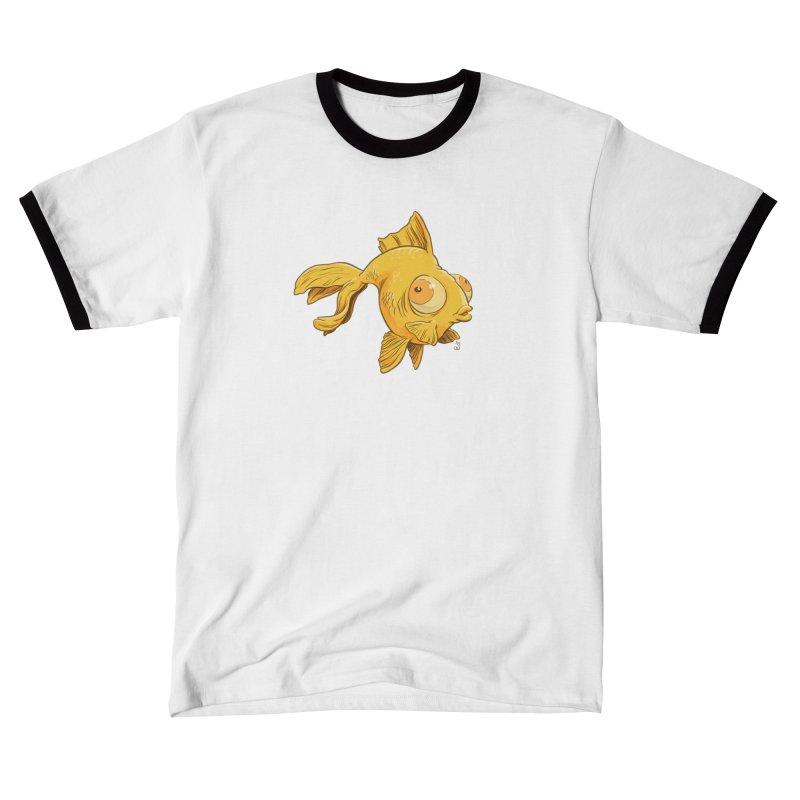 Goldfish Men's T-Shirt by The Artist Shop of Jason Martian