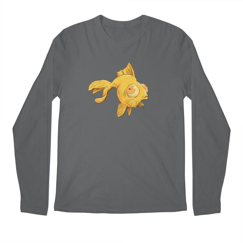 Goldfish Men's Longsleeve T-Shirt by The Artist Shop of Jason Martian