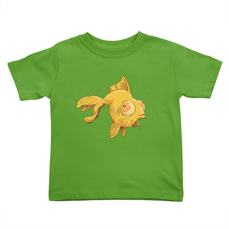 Goldfish Kids Toddler T-Shirt by The Artist Shop of Jason Martian