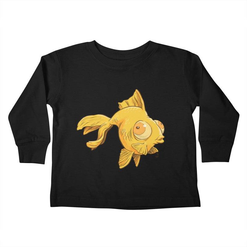 Goldfish Kids Toddler Longsleeve T-Shirt by The Artist Shop of Jason Martian