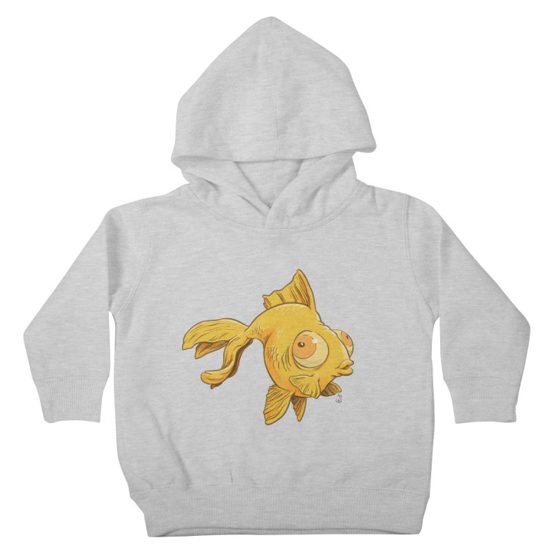 Goldfish Kids Toddler Pullover Hoody by The Artist Shop of Jason Martian