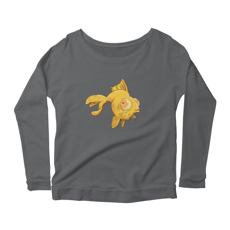 Goldfish Women's Longsleeve T-Shirt by The Artist Shop of Jason Martian