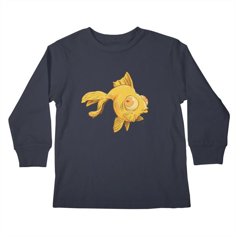 Goldfish Kids Longsleeve T-Shirt by The Artist Shop of Jason Martian