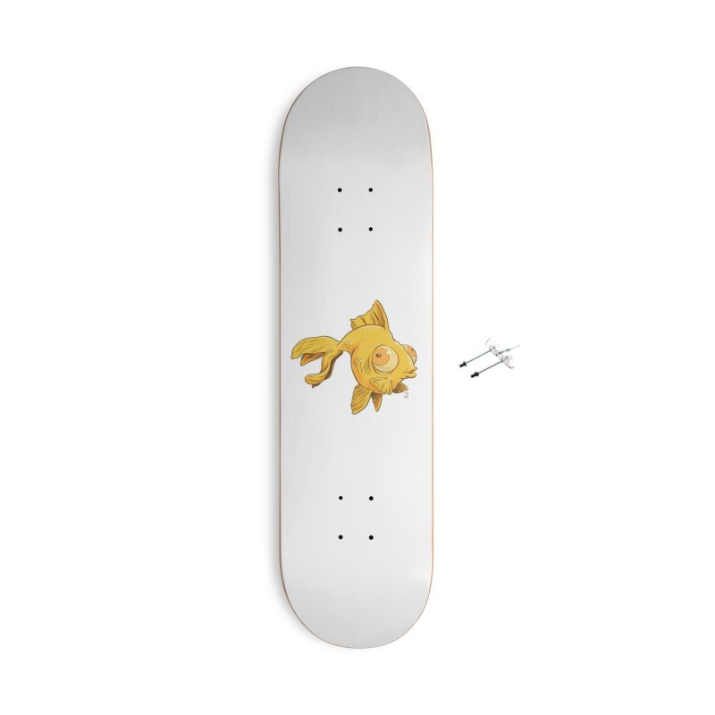 Goldfish Accessories Skateboard by The Artist Shop of Jason Martian