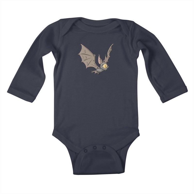 Onoculous Kids Baby Longsleeve Bodysuit by The Artist Shop of Jason Martian