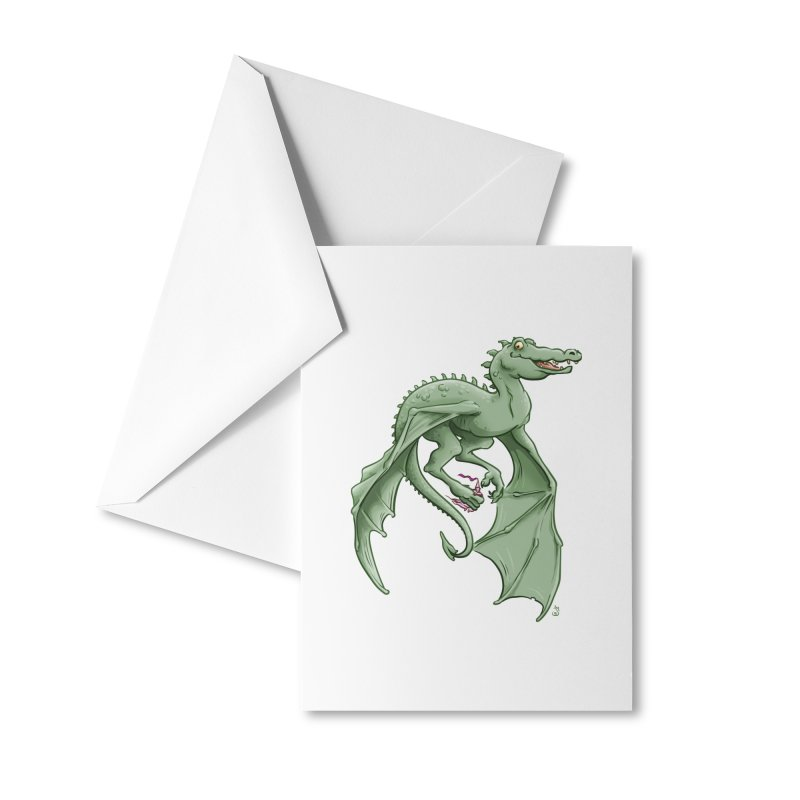 Dragon's Prize Accessories Greeting Card by The Artist Shop of Jason Martian