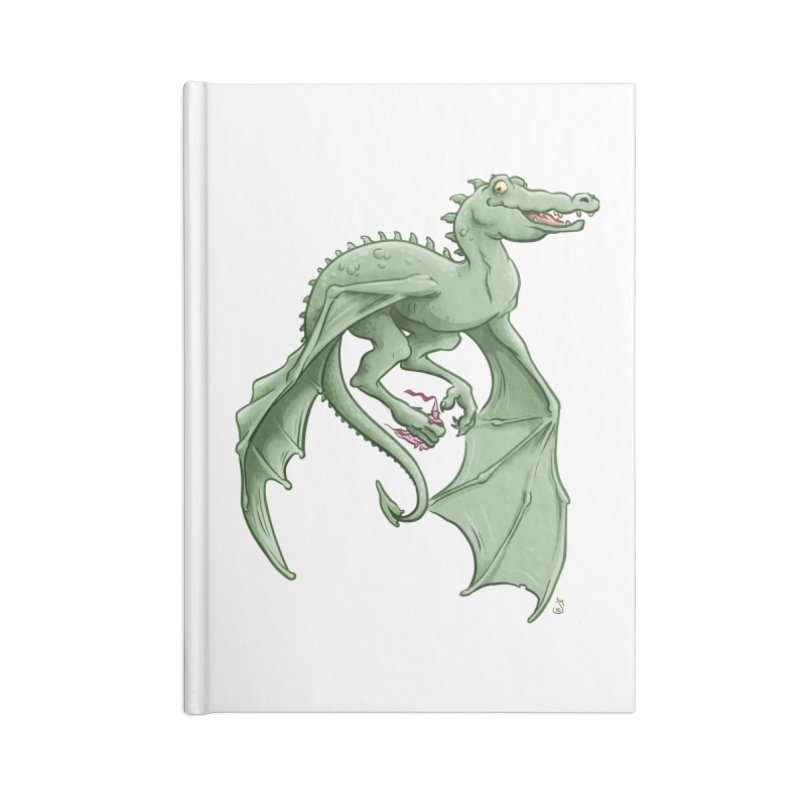 Dragon's Prize Accessories Notebook by The Artist Shop of Jason Martian