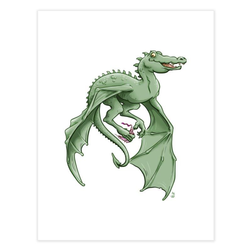 Dragon's Prize Home Fine Art Print by The Artist Shop of Jason Martian