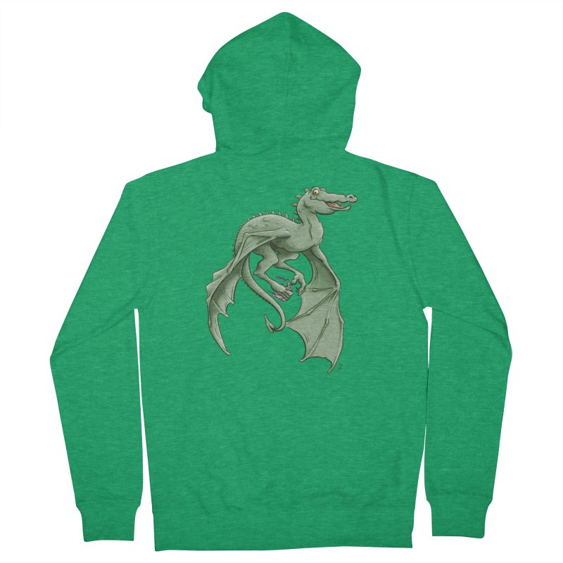 Dragon's Prize Men's Zip-Up Hoody by The Artist Shop of Jason Martian
