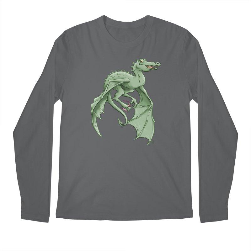 Dragon's Prize Men's Longsleeve T-Shirt by The Artist Shop of Jason Martian