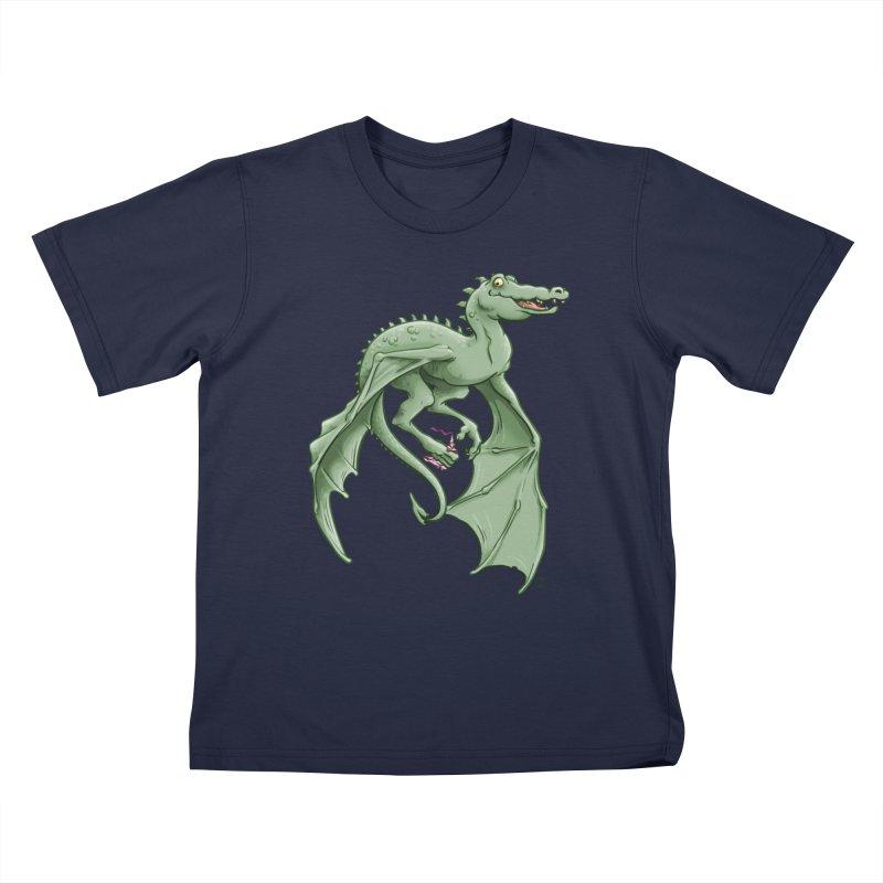 Dragon's Prize Kids T-Shirt by The Artist Shop of Jason Martian