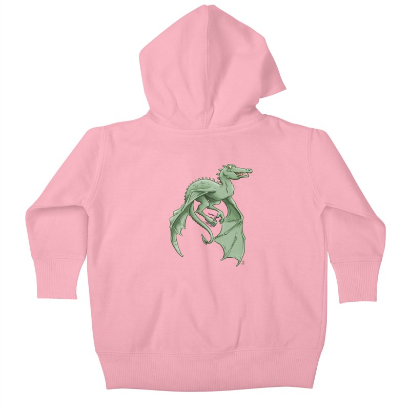 Dragon's Prize Kids Baby Zip-Up Hoody by The Artist Shop of Jason Martian