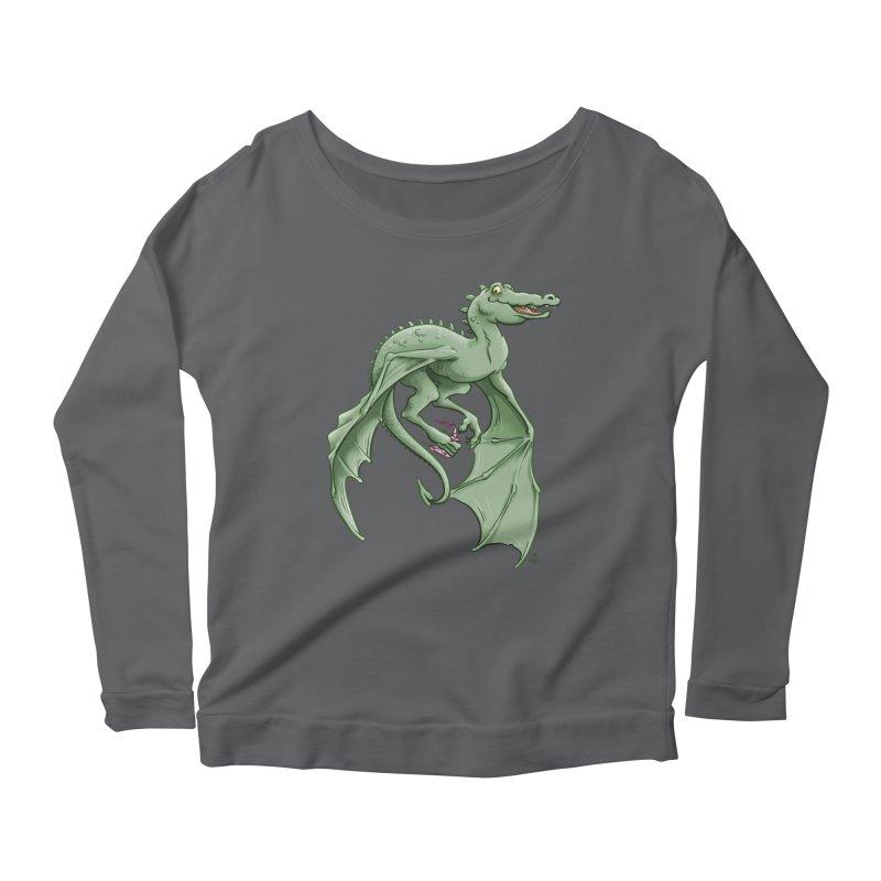 Dragon's Prize Women's Longsleeve T-Shirt by The Artist Shop of Jason Martian