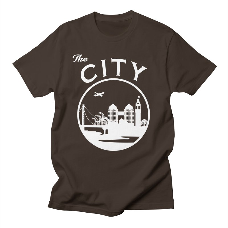THE CITY of Oakland (white) Men's T-Shirt by The Artist Shop of Jason Martian