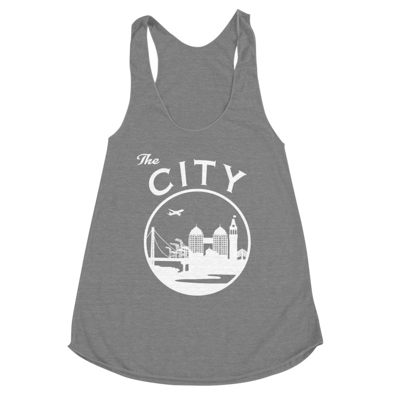 THE CITY of Oakland (white) Women's Tank by The Artist Shop of Jason Martian
