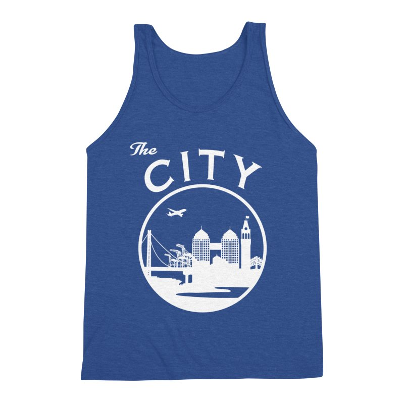 THE CITY of Oakland (white) Men's Tank by The Artist Shop of Jason Martian