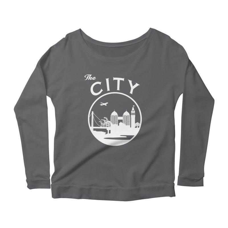 THE CITY of Oakland (white) Women's Longsleeve T-Shirt by The Artist Shop of Jason Martian