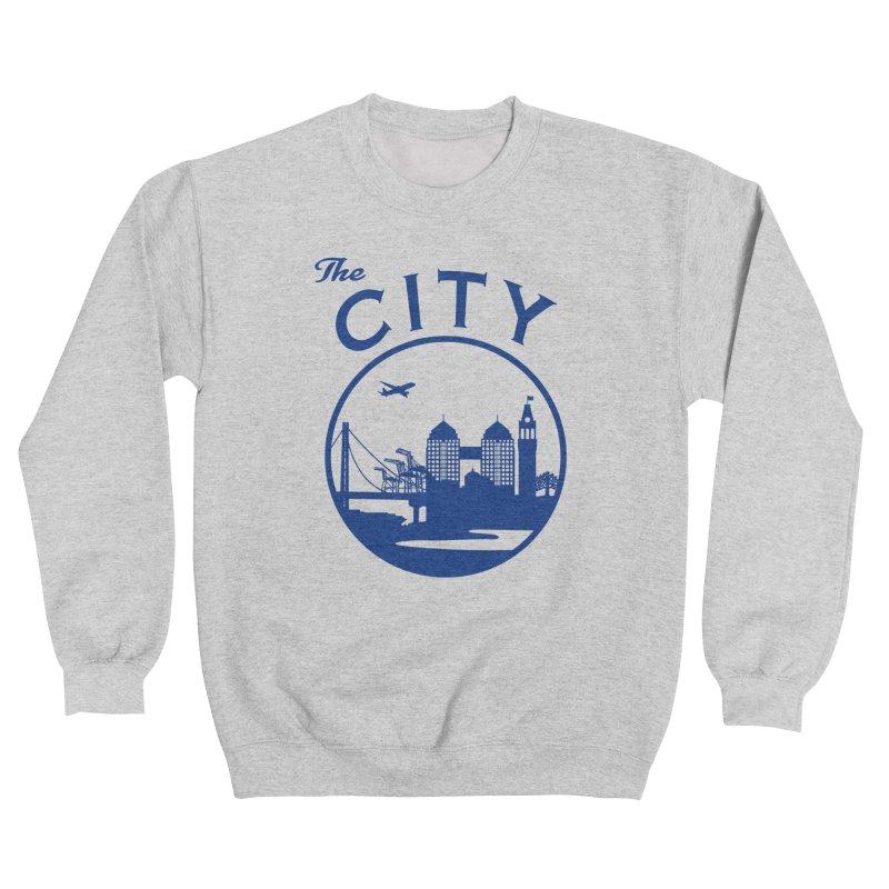 THE CITY of Oakland (Blue) Women's Sweatshirt by The Artist Shop of Jason Martian