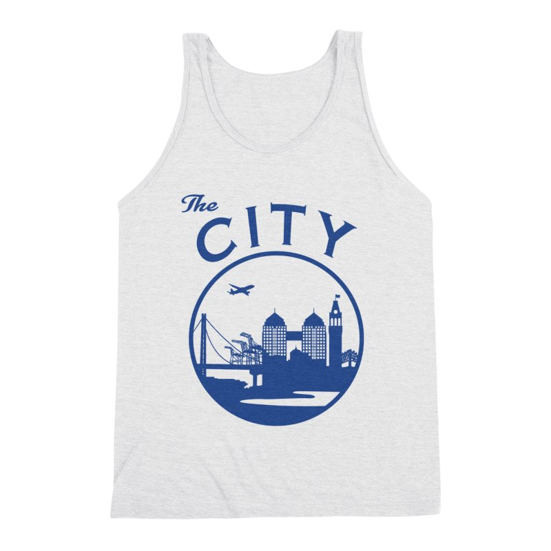 THE CITY of Oakland (Blue) Men's Tank by The Artist Shop of Jason Martian