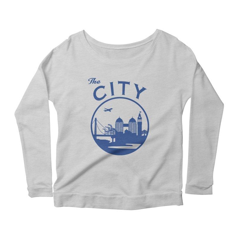 THE CITY of Oakland (Blue) Women's Longsleeve T-Shirt by The Artist Shop of Jason Martian