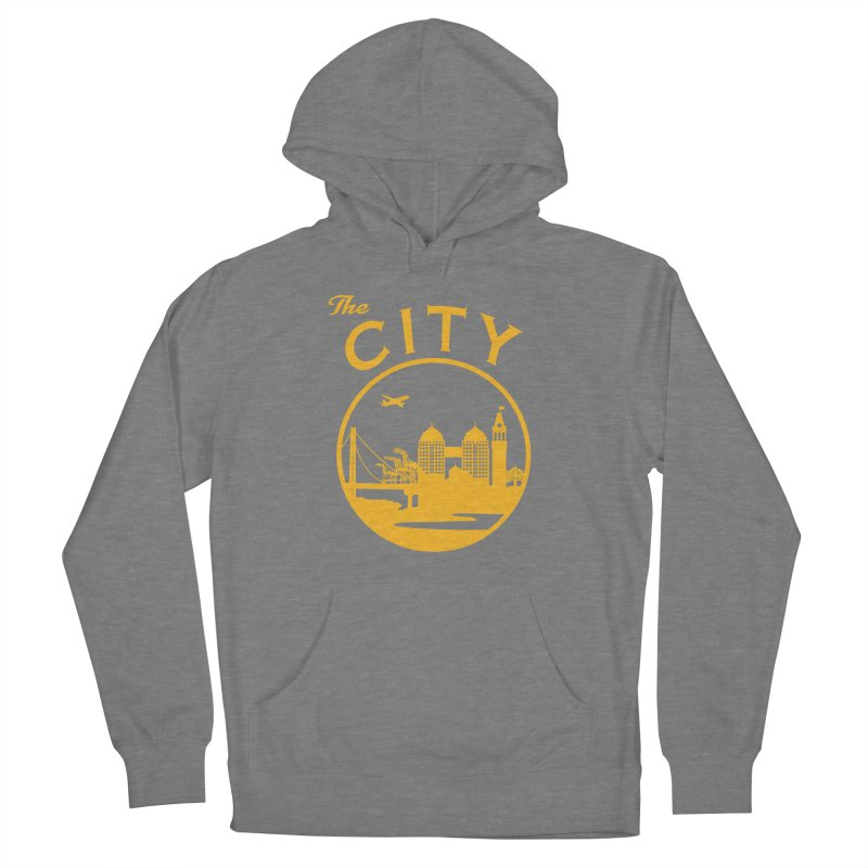 THE CITY of Oakland (Gold) Women's Pullover Hoody by The Artist Shop of Jason Martian