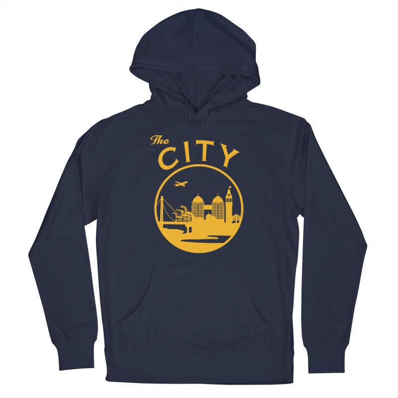 THE CITY of Oakland (Gold) Men's Pullover Hoody by The Artist Shop of Jason Martian