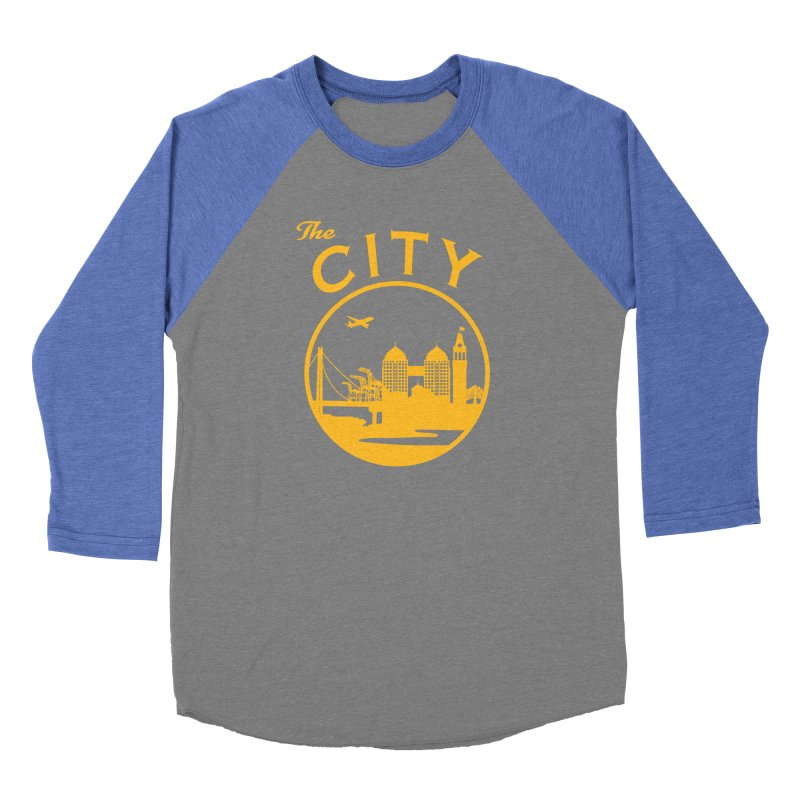 THE CITY of Oakland (Gold) Women's Longsleeve T-Shirt by The Artist Shop of Jason Martian