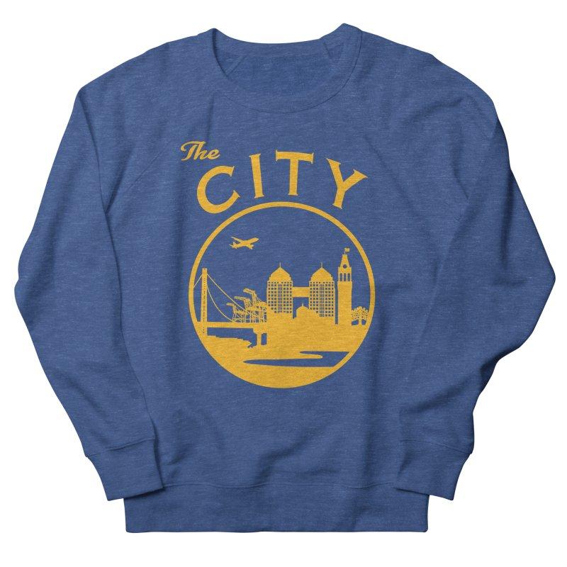 THE CITY of Oakland (Gold) Men's Sweatshirt by The Artist Shop of Jason Martian