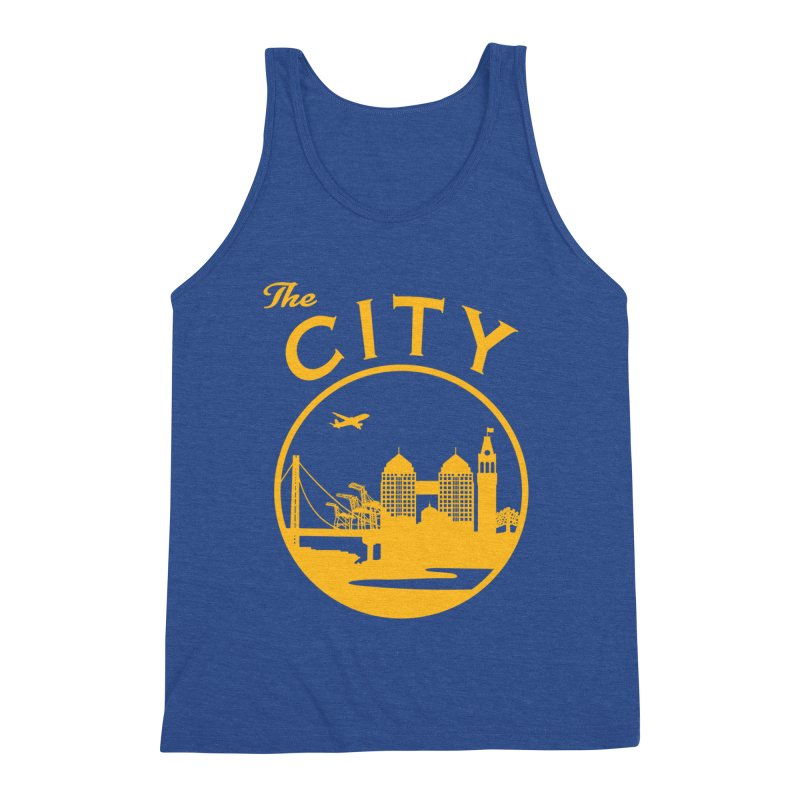 THE CITY of Oakland (Gold) Men's Tank by The Artist Shop of Jason Martian