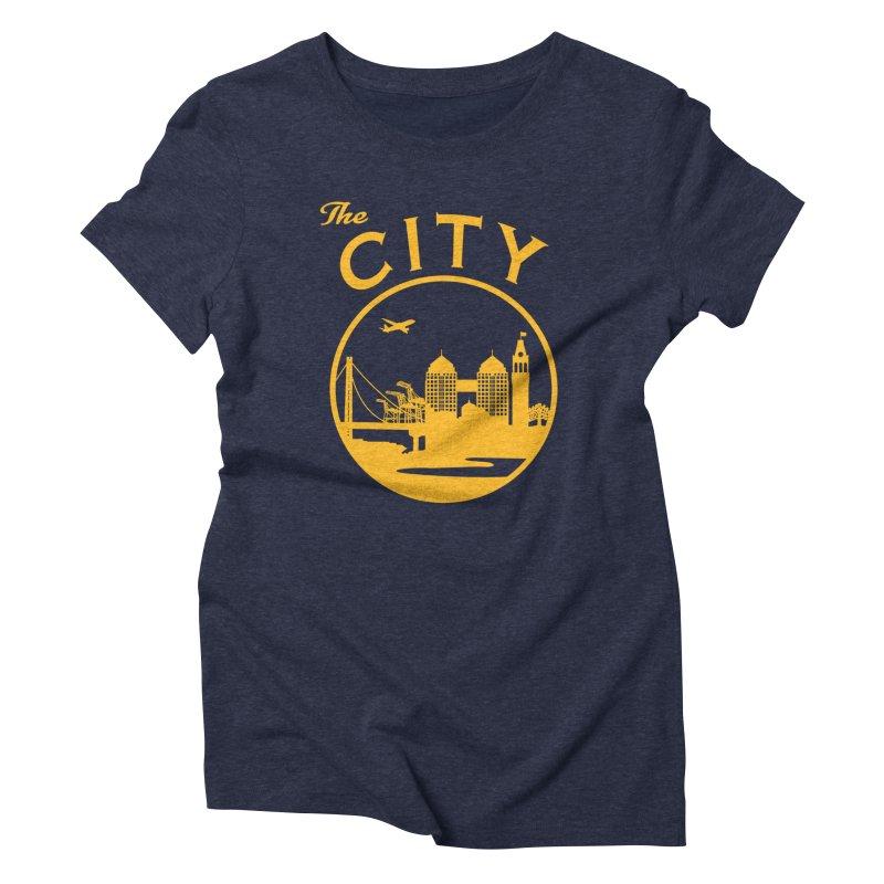 THE CITY of Oakland (Gold) Women's T-Shirt by The Artist Shop of Jason Martian