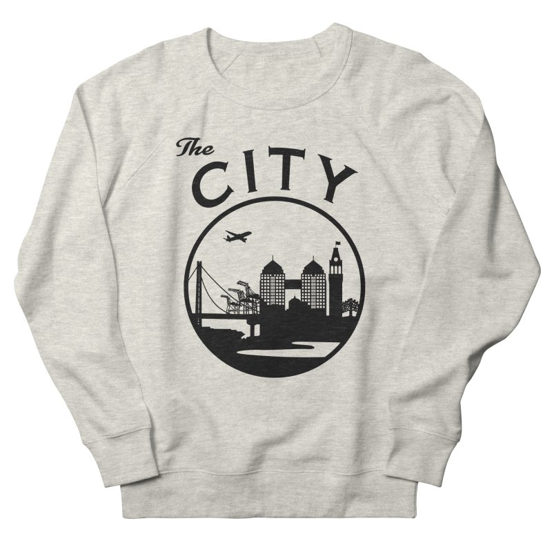 THE CITY of Oakland (Black) Women's Sweatshirt by The Artist Shop of Jason Martian