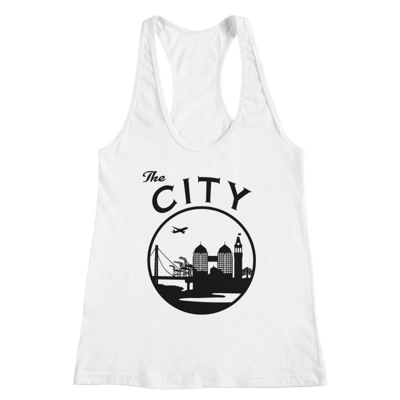 THE CITY of Oakland (Black) Women's Tank by The Artist Shop of Jason Martian