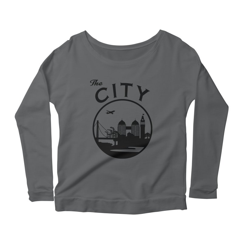 THE CITY of Oakland (Black) Women's Longsleeve T-Shirt by The Artist Shop of Jason Martian