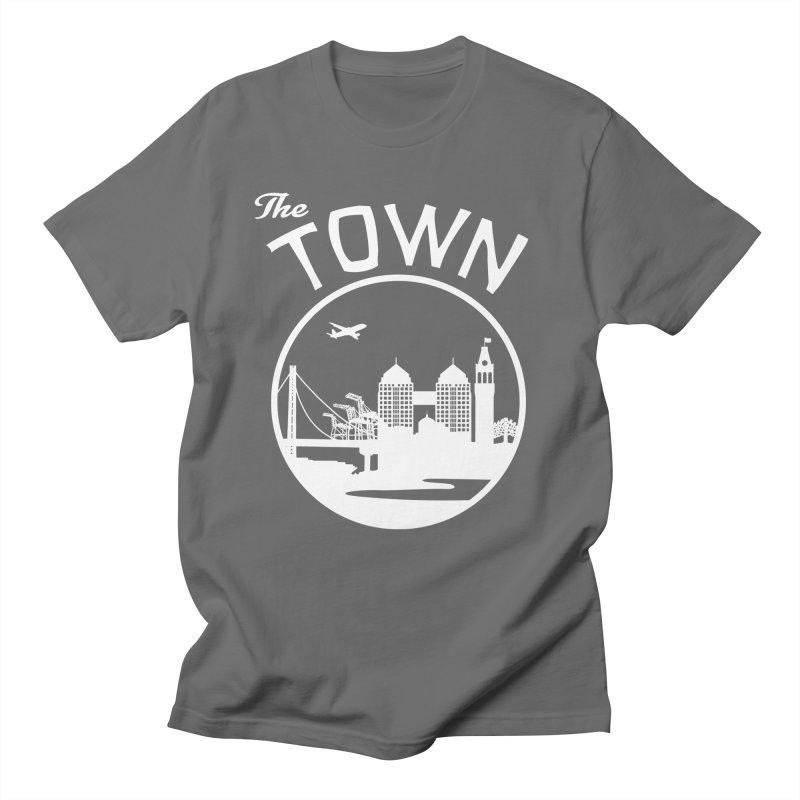 Oakland: The Town Men's T-Shirt by The Artist Shop of Jason Martian