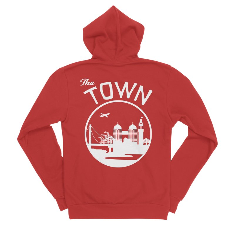 Oakland: The Town Women's Zip-Up Hoody by The Artist Shop of Jason Martian