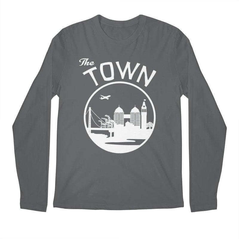 Oakland: The Town Men's Longsleeve T-Shirt by The Artist Shop of Jason Martian