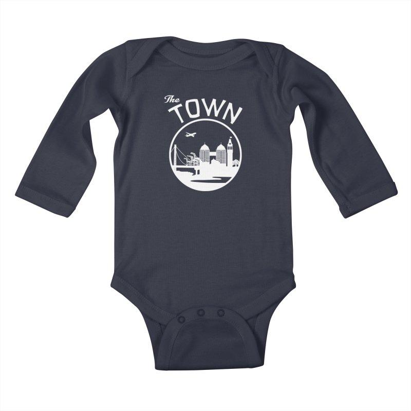 Oakland: The Town Kids Baby Longsleeve Bodysuit by The Artist Shop of Jason Martian