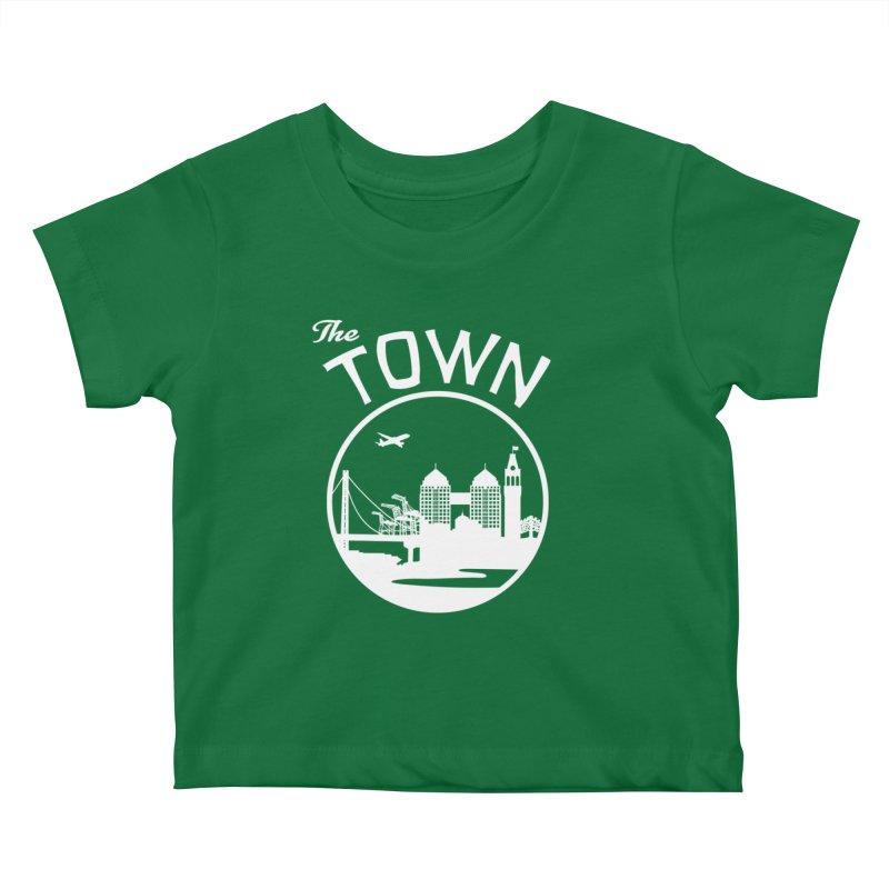 Oakland: The Town Kids Baby T-Shirt by The Artist Shop of Jason Martian